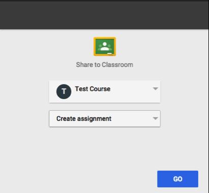 Edulastic Google Classrom Integration