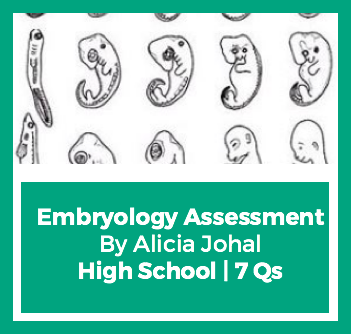 Earth Day Embryology Assessment