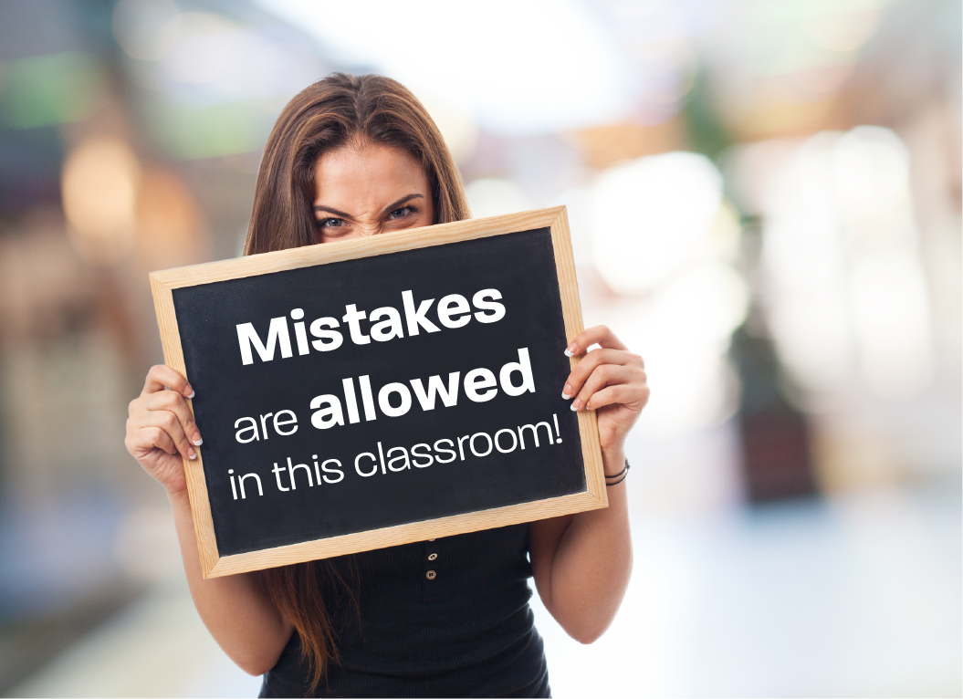 embrace mistakes in the classroom 5 reasons to redirect