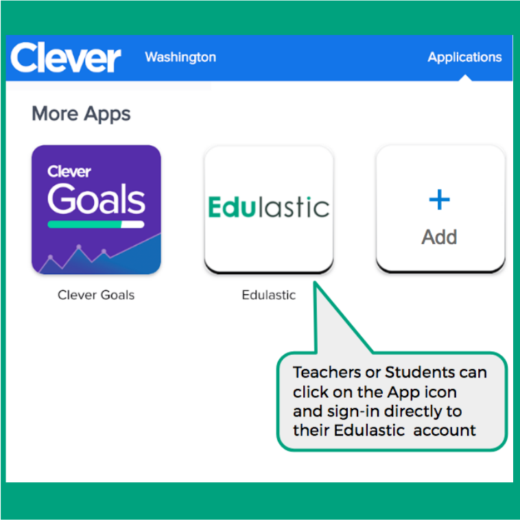 Image result for clever student portal edulastic