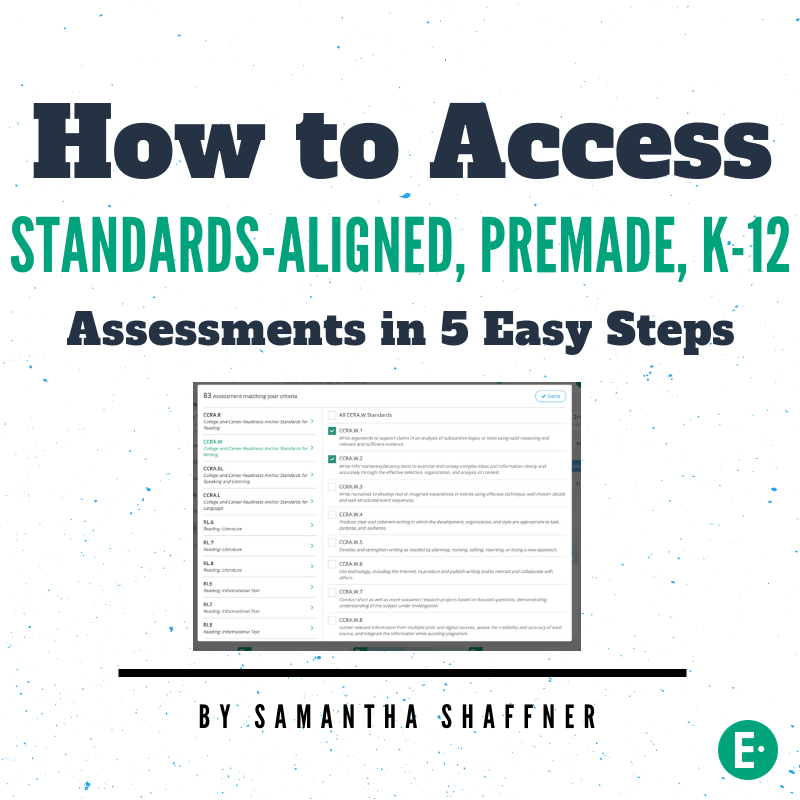 Standards-aligned assessment blog image